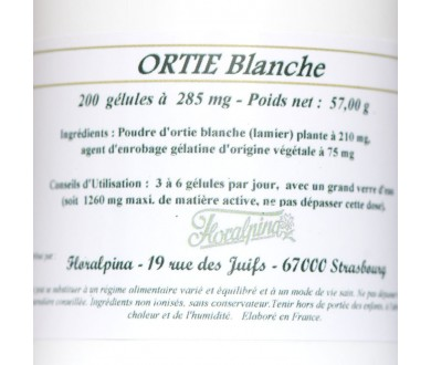 Ortie Blanche